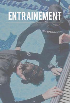 entrainement plongée en apnée