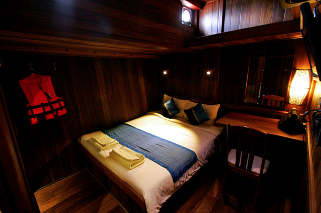 Diva Andaman Liveaboard Double Cabin