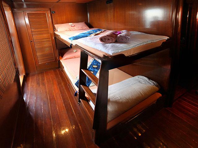 Croisière Hallelujah cabine lits séparés