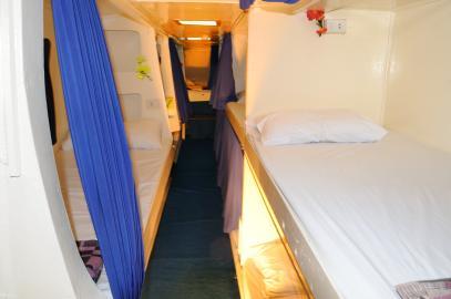 Croisière Andaman dortoir