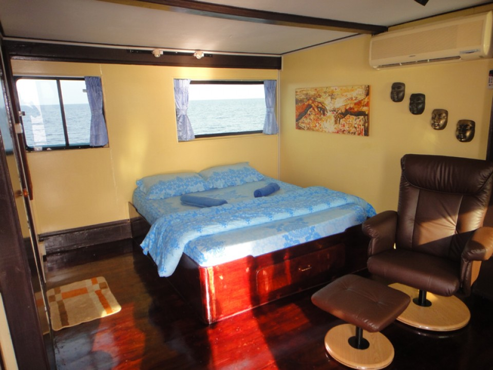 Andaman Tritan Liveaboard Master Cabin