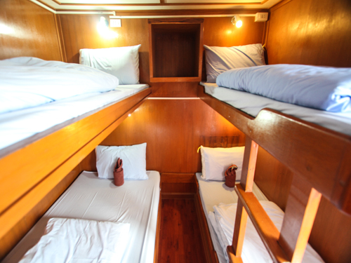 Manta Queen 1 Liveaboard quad cabin