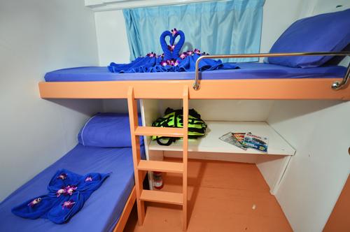 Pawara Liveaboard Standard Twin Cabin