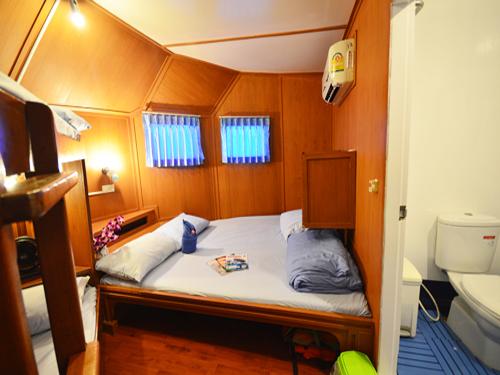Croisière Manta Queen 3 cabine master