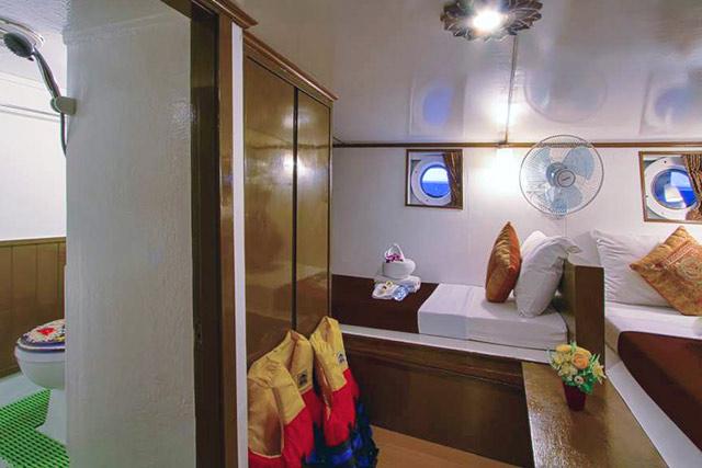 Croisière Pawara Standard Twin Cabin