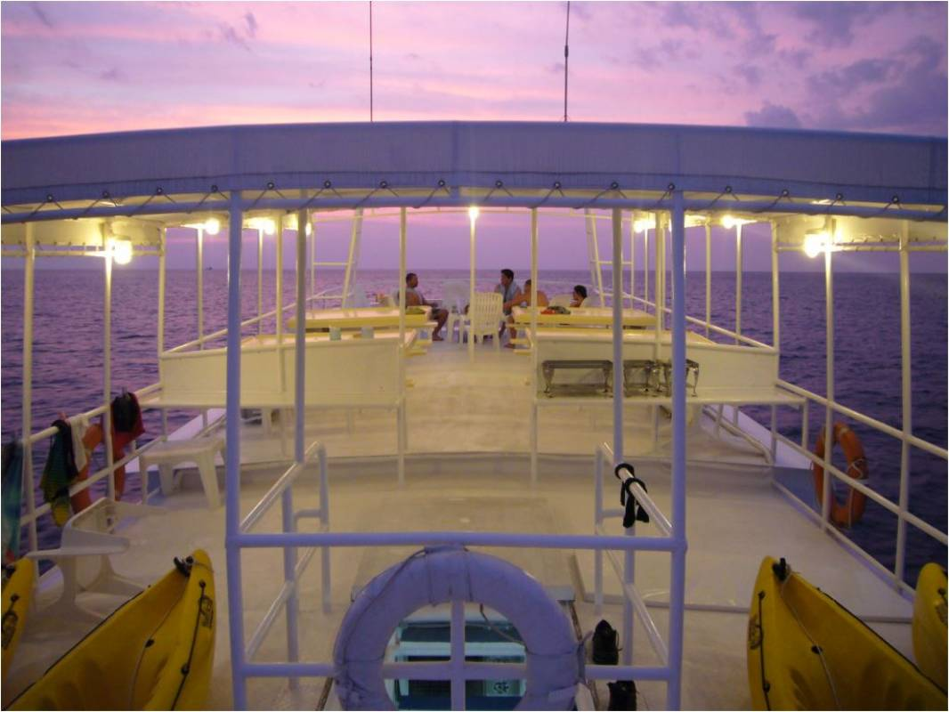 MV Andaman Seafarer Upper Deck