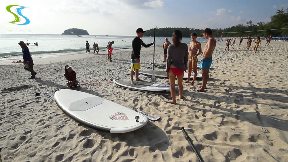 Phuket leisure activities - SUP course