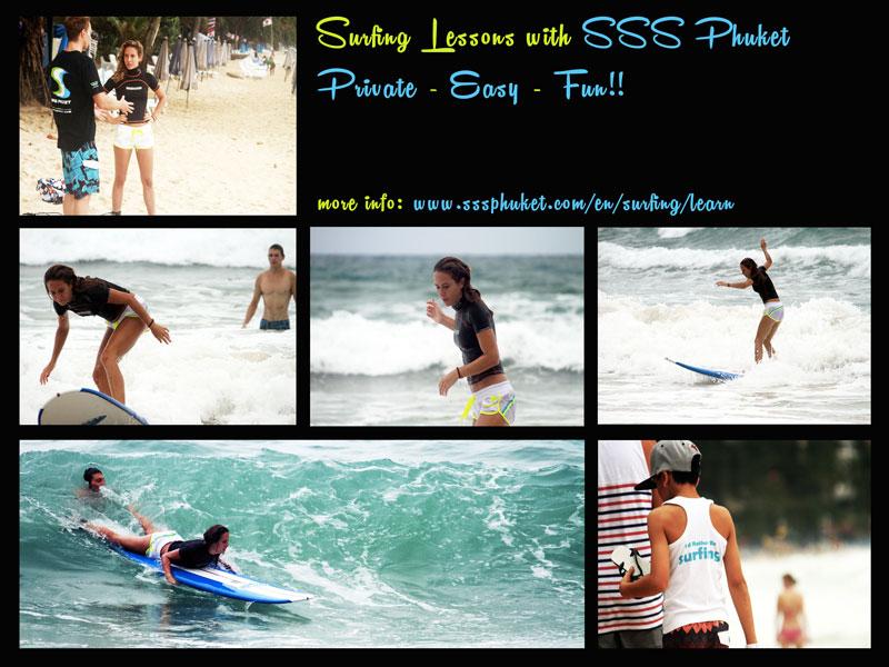 Phuket Surfing Lesson