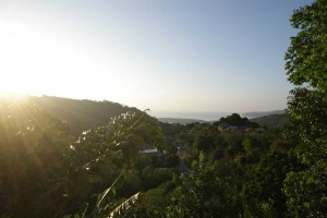 Phuket Surf Camp accommodation panoramic view