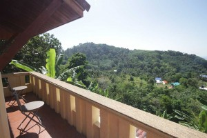 Phuket Surf Camp accommodation terrace