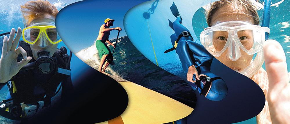 scuba diving surfing phuket