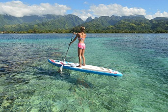 Stand-Up Paddle with the best dive center