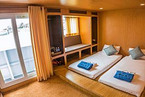 Diverace Class E Liveaboard Deluxe cabin