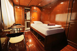 Hallelujah Liveaboard VIP SIngle Cabin