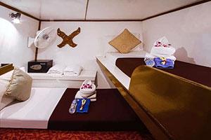 Pawara Liveaboard Budget Twin Cabin