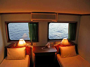 Somboon 3 Similan Liveaboard cabin