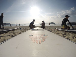 stand up paddle for rent with a go pro