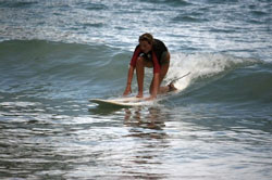 surfin lesson in october at kata