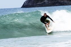 surfing lesson at Kata Noi