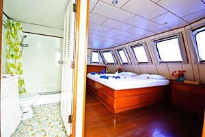 croisière Deep Andaman Queen cabine master