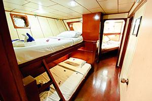 croisière Deep Andaman Queen cabine