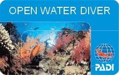 plongée à Phuket padi-card-open water