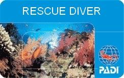 plongée à Phuket padi-card-rescue