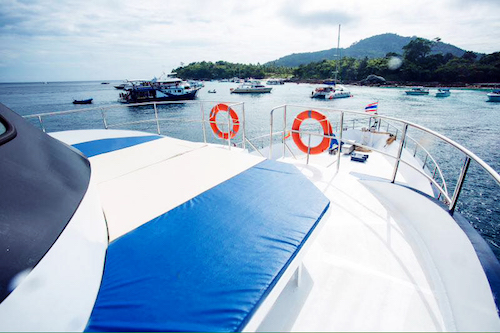 Phi Phi Diving sun deck