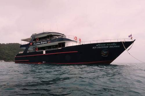 Phi Phi Diving Boat