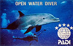 PADI Open Water Card Phuket