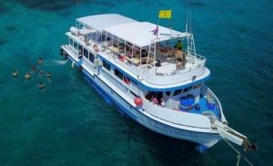 racha yai snorkeling, diving boat phuket