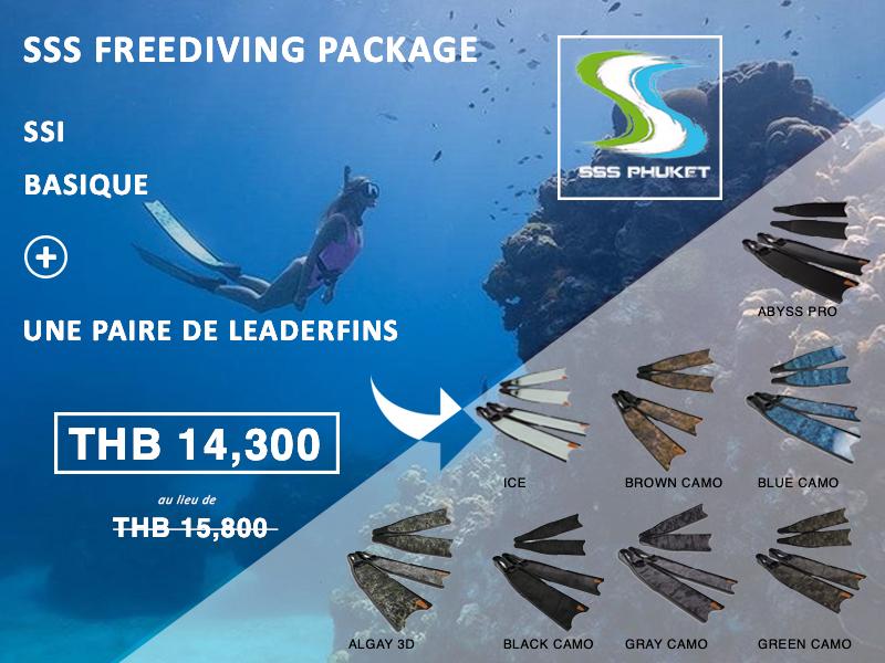 SSI Basic Freediver Phuket Package Leaderfins