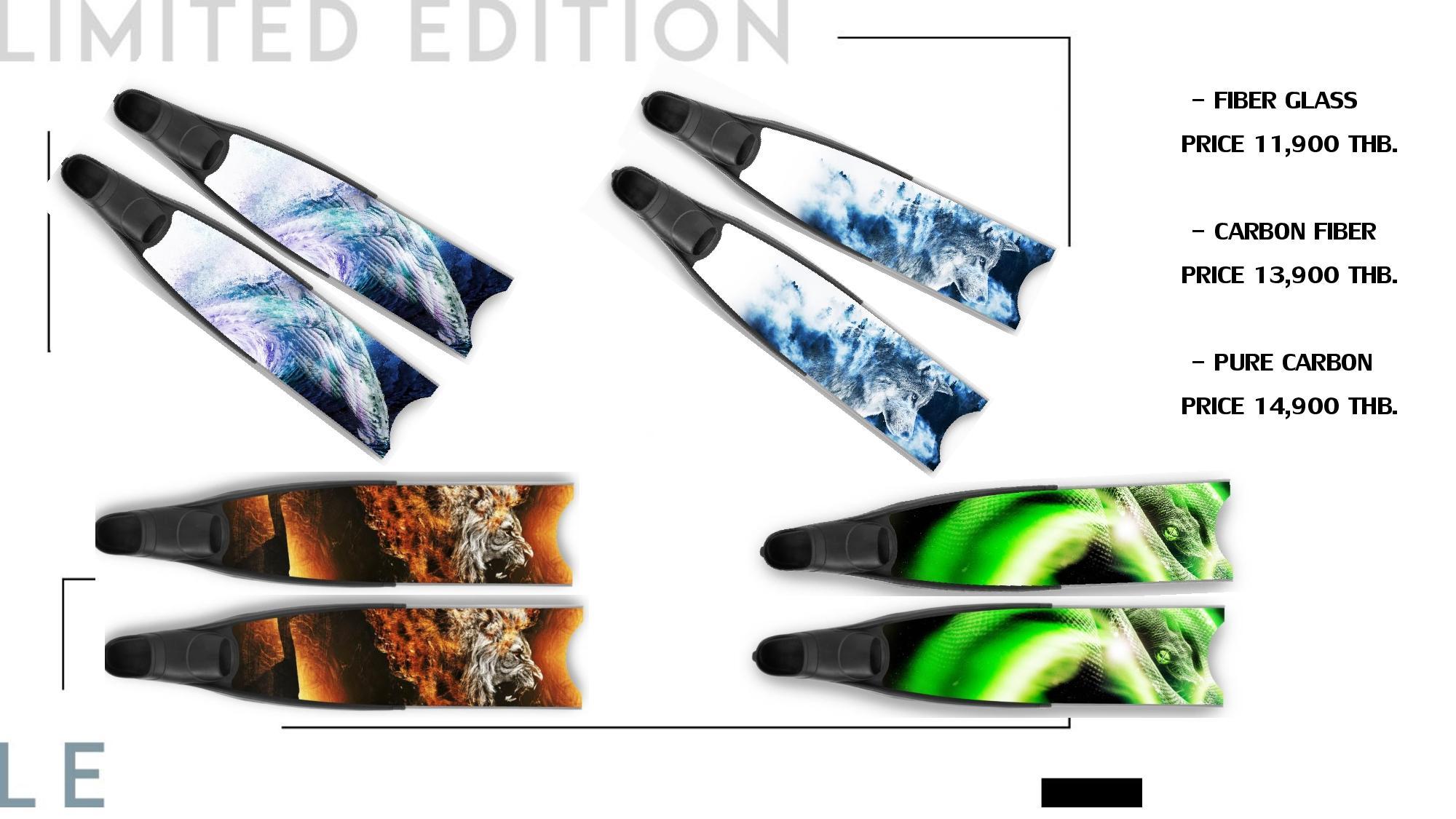 sss phuket dive limited edition leaderfins