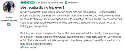 King Cruiser Diving