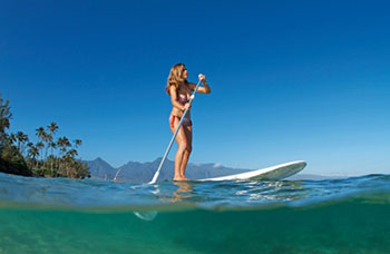 Phuket best dive center stand up paddle