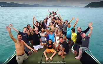 SSS Phuket bateau